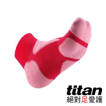 Titan功能慢跑襪- [桃紅/粉紅]