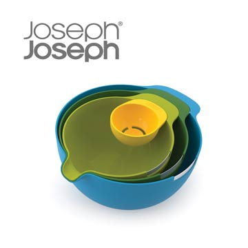 《Joseph Joseph英國創意餐廚》破蛋攪拌盆四件組