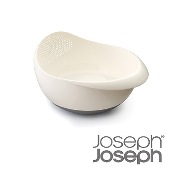 《Joseph Joseph英國創意餐廚》浸泡洗滌兩用濾籃(大白)