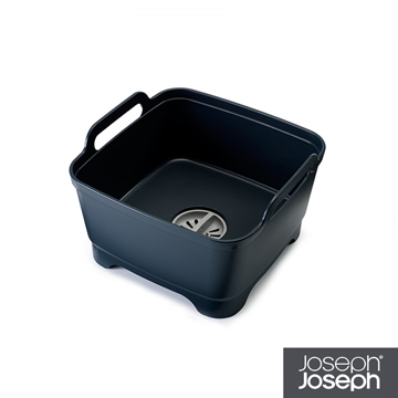 《Joseph Joseph英國創意餐廚》好輕鬆省水洗碗槽(灰)