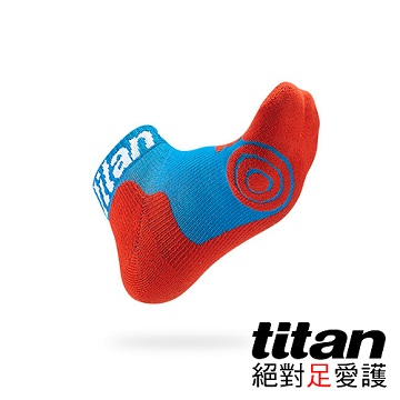 Titan 專業籃球襪-light [藍/紅]