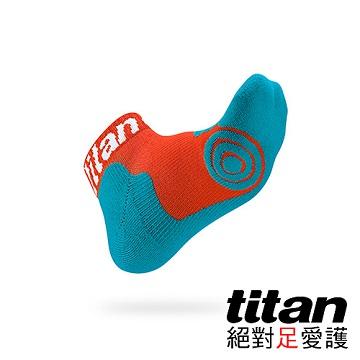 Titan 專業籃球襪-light [橘/青]