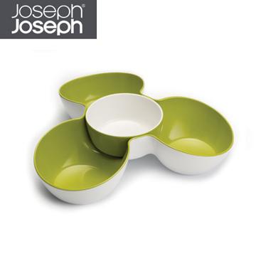 《Joseph Joseph英國創意餐廚》★花朵醬碟點心盤(綠白)★70071