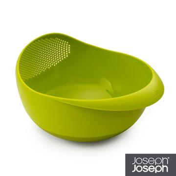 《Joseph Joseph英國創意餐廚》★浸泡洗滌兩用濾籃(小綠)★40065