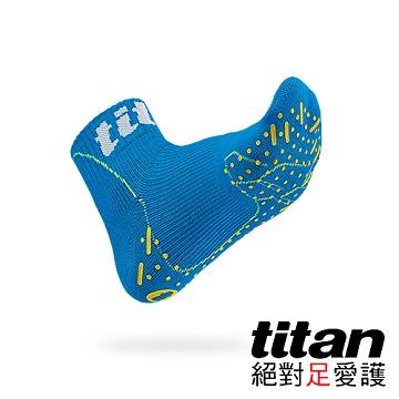 Titan側向運動襪-Elite[藍]