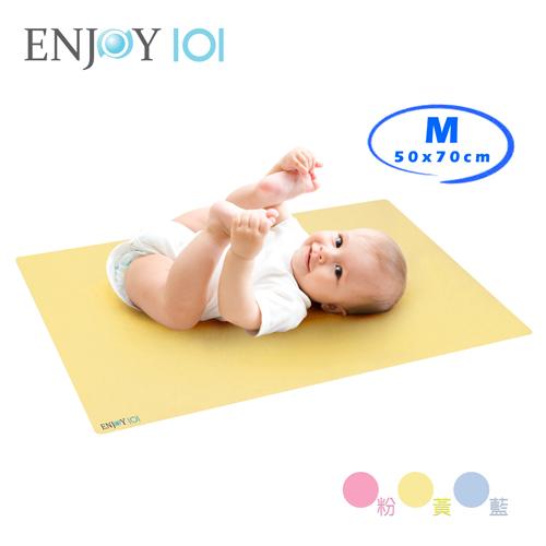 《ENJOY101》矽膠布止滑防水隔尿墊(尿布墊/保潔墊) - M(50x70cm)