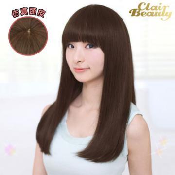【MC018】韓 氣質髮尾內灣中長直髮