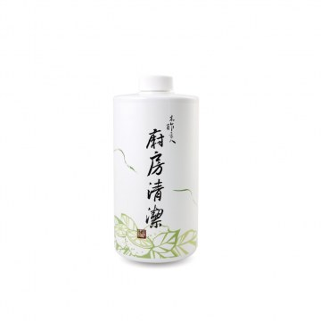 天然木酢廚房清潔噴霧補充罐1000ml【#30602】-木酢達人