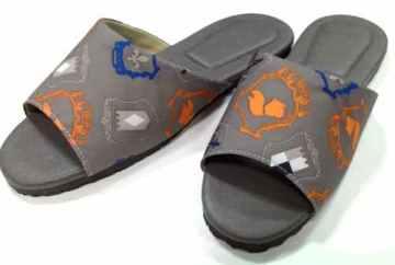 (e鞋院)英倫格調室內皮拖鞋~駝~