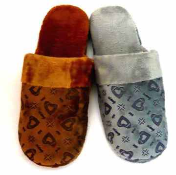 (e鞋院) 暖暖愛心舒適室內拖鞋