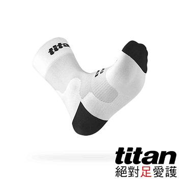 Titan 自行車襪 Race [白]-F
