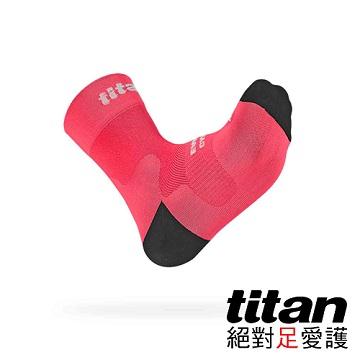 Titan 自行車襪 Race [桃紅]-F