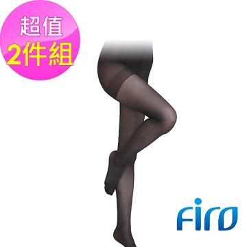 《Firo》 120D薄型褲襪-黑色(2雙入)