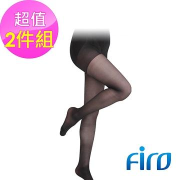 《Firo》120D高跟鞋款褲襪-黑(兩雙入)
