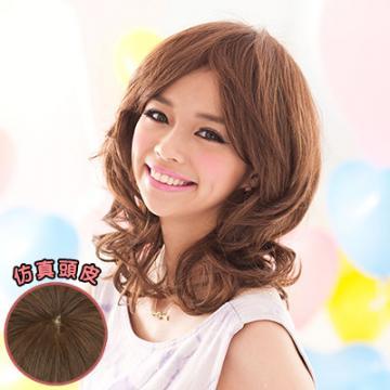 【3486JM】斜瀏海蓬鬆捲捲短髮