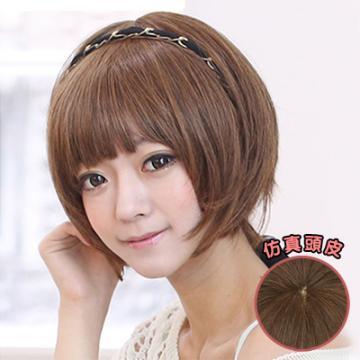 【A093】韓風個性派女孩萌蓬短髮
