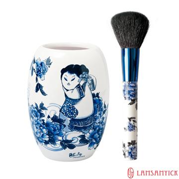 LSY 林三益【娉婷】青花蜜粉瓷瓶組