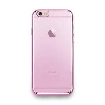 iPhone 6s-金屬光透感保護軟蓋-玫瑰粉
