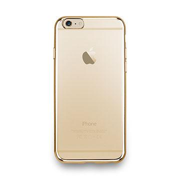 iPhone 6s-金屬光透感保護軟蓋-閃耀金