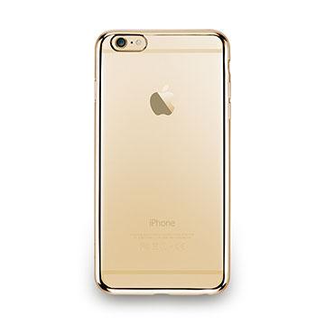 iPhone 6s Plus-金屬光透感保護軟蓋-閃耀金