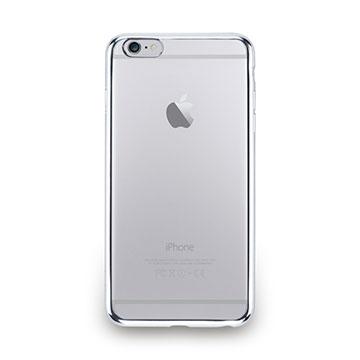 iPhone 6s Plus-金屬光透感保護軟蓋-亮銀色