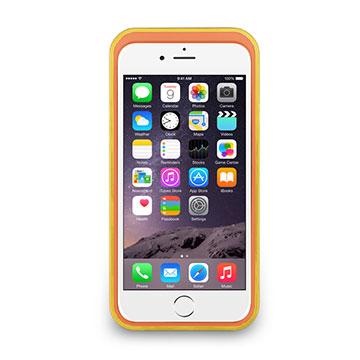 iPhone 6/6s - 撞色可立式保護框(防護升級版) - 亮黃色