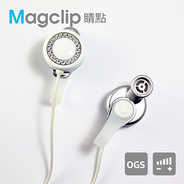 TOPLAY聽不累 磁附式 漾白-創意 音響 耳機推薦-[CC03]