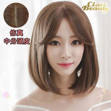 【MB216】空氣瀏海 加長版BOBO短髮(加大頭皮)