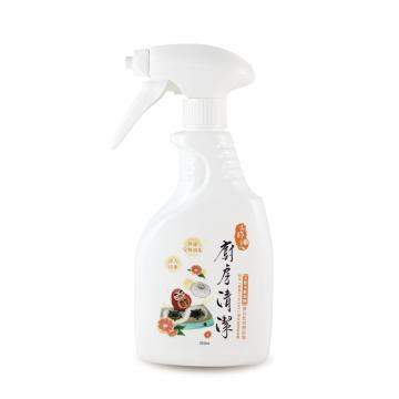 天然木酢廚房清潔噴霧350ml【#30604】快速清潔除油好幫手-木酢達人
