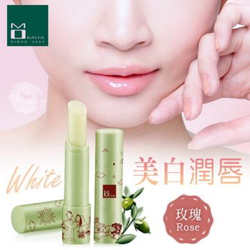 《MOMUS》美白潤唇修護素+Plus 3.5g - 玫瑰