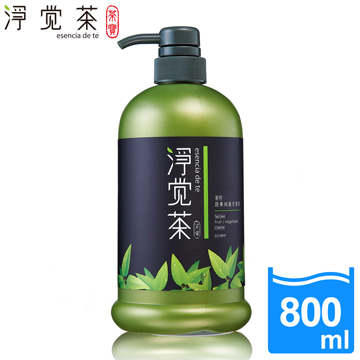 【茶寶 淨覺茶】茶籽碗盤蔬果洗潔液800ml