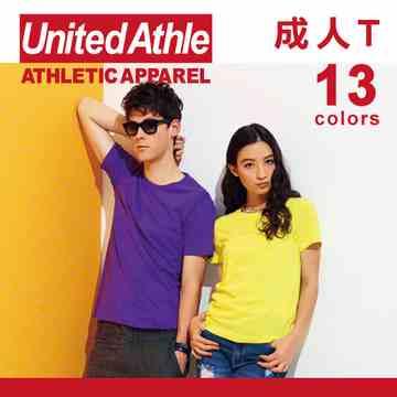 日本品牌~United Athle短袖素面T-Shirt(1件)-成人
