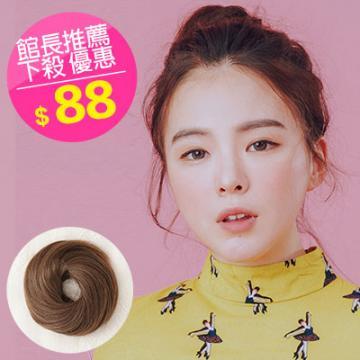 【DH52】 新款量多甜甜圈髮束丸子包包頭髮束☆雙兒網☆