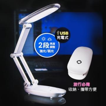 【SHernbao】內置充電鋰電池30LED摺疊照明燈*2