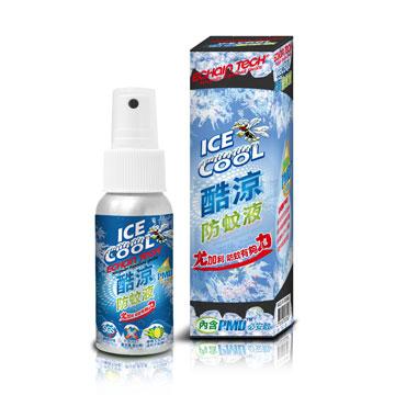 ECHAIN TECH 熊掌防蚊液 -酷涼型 (PMD配方)X3瓶組