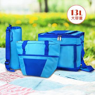 多功能保冷保溫袋組(13L大容量)