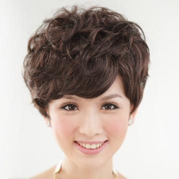【1029M】貴氣款上班族自然微捲短髮