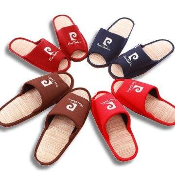 (e鞋院)皮爾卡登紙蓆室內拖鞋(