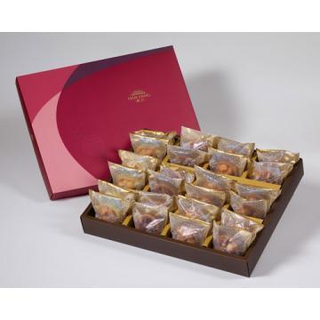 漢坊【金饌】綜合24入禮盒★什錦+夏威夷豆+辣味夏威夷豆+咖啡胡桃堅果塔*6(蛋奶素)