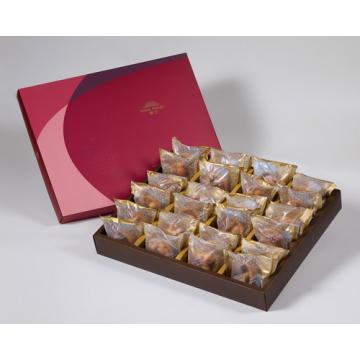 漢坊【金饌】什錦堅果塔24入禮盒(蛋奶素)