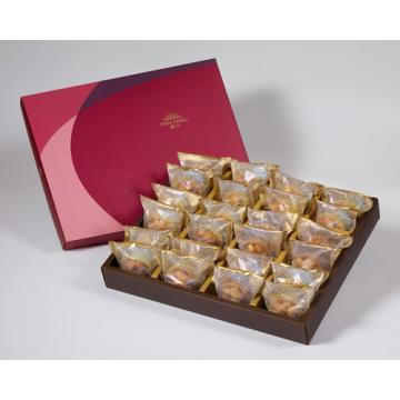 漢坊【金饌】夏威夷豆堅果塔24入禮盒(蛋奶素)