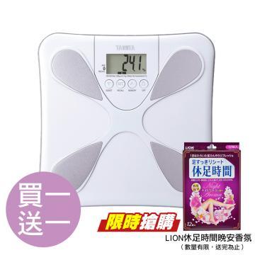 【TANITA】魔幻水滴體脂計 UM050 搭贈休足時間晚安香氛一組