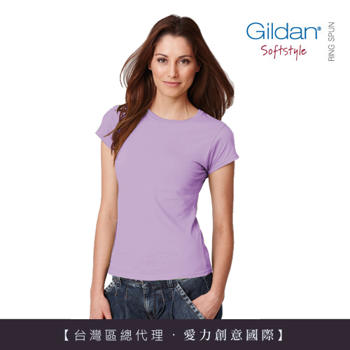 <font color=red>美國第一品牌GILDAN 美版顯瘦舒棉女短T-Shirt 【超值三件組】</font>