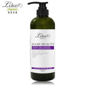 【Luke路加】純淨舒緩洗髮凝露-夜茉莉珍貴香氛(720ml)