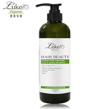 【Luke路加】純淨舒緩洗髮凝露-白茶經典香氛(720ml)