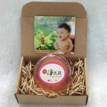 《淨琉璃ZEN SOAP》手工美容皂【100g】(紅)玫瑰