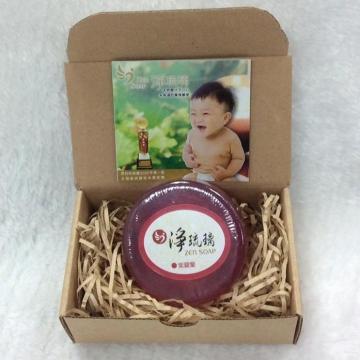 《淨琉璃ZEN SOAP》手工美容皂【100g】(紫)紫羅蘭