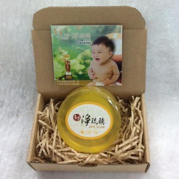 《淨琉璃ZEN SOAP》手工美容皂【100g】三宅一生(黃色)