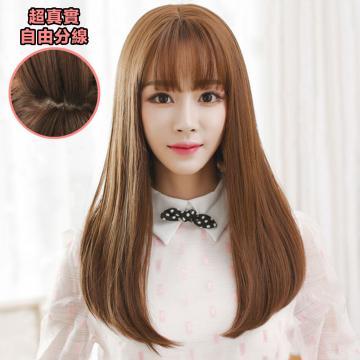 【MC306】直髮髮尾微捲假髮 韓系高仿真 空氣瀏海 超美 耐熱