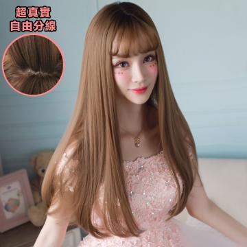 【MC316】直髮髮尾微捲假髮 韓系高仿真 空氣瀏海 超美 耐熱